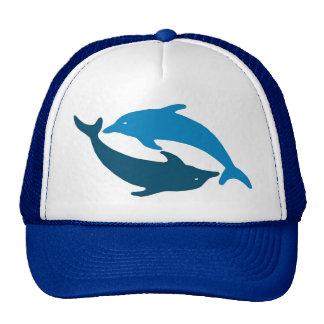 Blue Dolphin Duet Hats