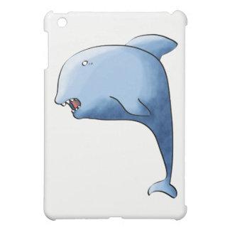 Blue dolphin iPad mini case