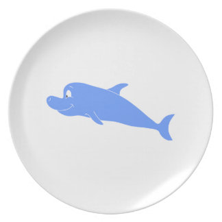 Blue Dolphin. Plate