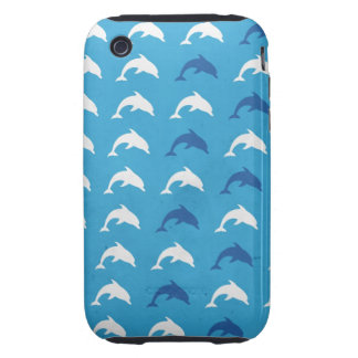 Blue dolphins iPhone 3 tough cover
