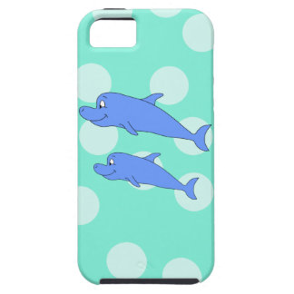 Blue Dolphins. iPhone 5 Covers