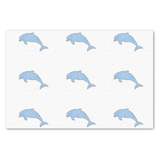 Blue Dolphins Party supplies Tissue Paper