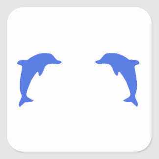 Blue Dolphins Stickers