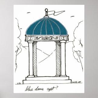 Blue Dome print