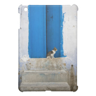 Blue door, Kairouan, Tunisia, Africa iPad Mini Cover