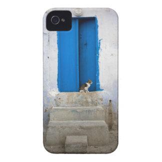Blue door, Kairouan, Tunisia, Africa iPhone 4 Cases