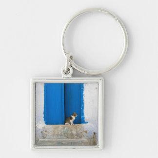 Blue door, Kairouan, Tunisia, Africa Key Ring