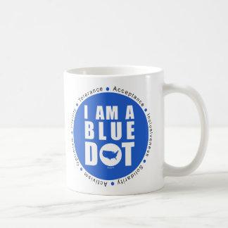 Blue Dot U.S.A. Coffee Mug