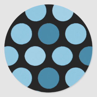 Blue Dots #2 Stickers
