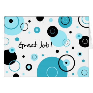 Blue Dots Administrative Professionals Day Card