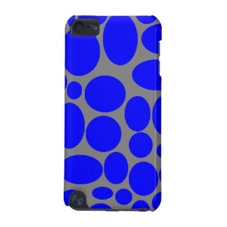 Blue dots I-pod touch case. iPod Touch (5th Generation) Case