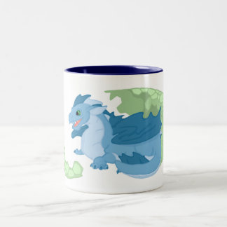 Blue Dragon Hatchling Mug