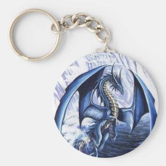 Blue Dragon Keychain