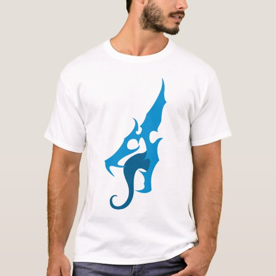 Blue Dragon Logo Tee