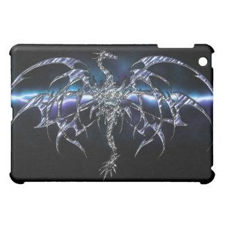 Blue Dragon on Lightning Sky iPad Cover