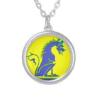 Blue Dragon on Pedestal Jewelry