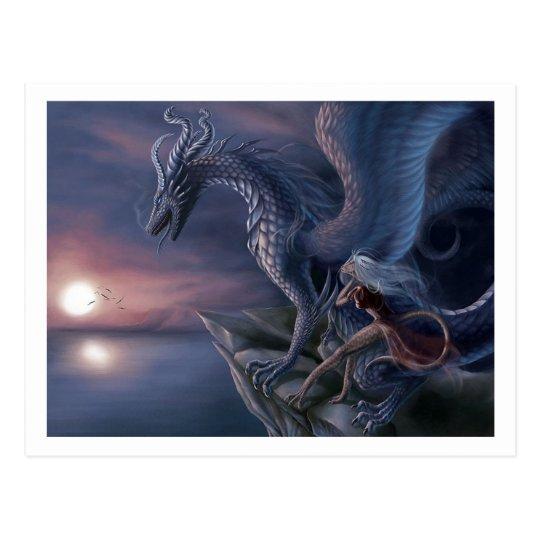Blue Dragon Postcard