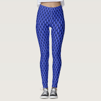 Blue Dragon Scale Leggings