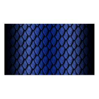 Blue Dragon Scales Business Cards