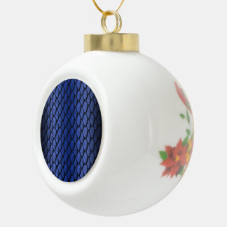 Blue Dragon Scales Ceramic Ball Decoration