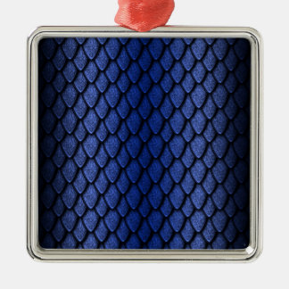 Blue Dragon Scales Christmas Tree Ornaments
