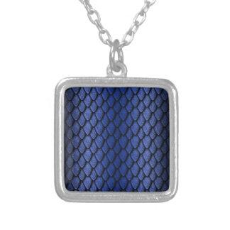Blue Dragon Scales Pendant