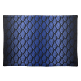 Blue Dragon Scales Placemats