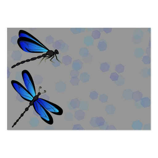 blue dragonflies business cards