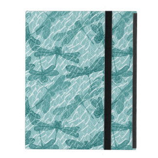 Blue Dragonflies Case For iPad