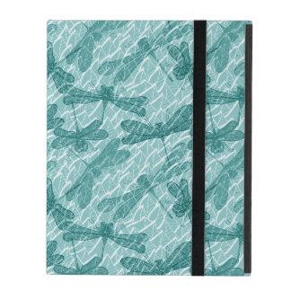Blue Dragonflies iPad Case