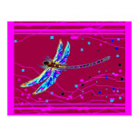 Blue Dragonfly Amethyst Purple Gifts by Sharles