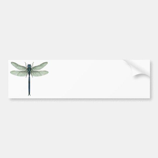 Blue Dragonfly Bumper Sticker