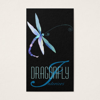 Blue Dragonfly Creative Designer Business Cards