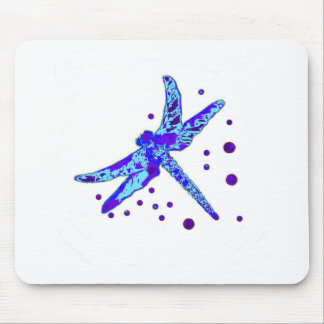 Blue Dragonfly Gifts by Sharles Mouse Mat