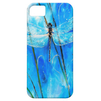 Blue Dragonfly iPhone 5 Case