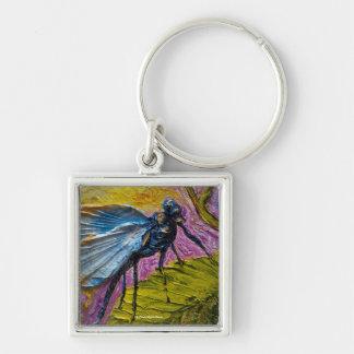 Blue Dragonfly Key Chain