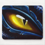 Blue Dragon's Eye Mouse Pad