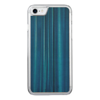 Blue drapes carved iPhone 7 case