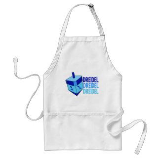 Blue Dreidel Standard Apron