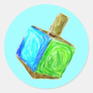 Blue Driedel Sticker
