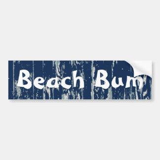 Blue Driftwood Bumper Sticker