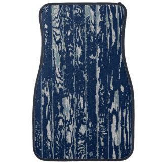 Blue Driftwood Car Mat