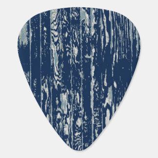 Blue Driftwood Plectrum