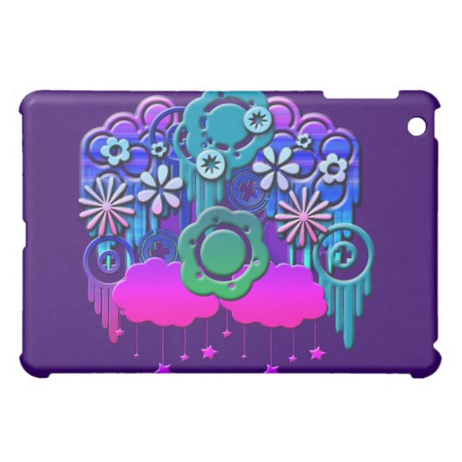 Blue Drips Cover For The iPad Mini