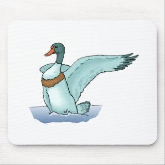 Blue Duck Mousepad