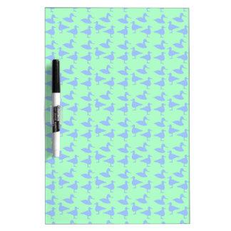 Blue ducks dry erase board