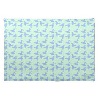 Blue ducks placemat