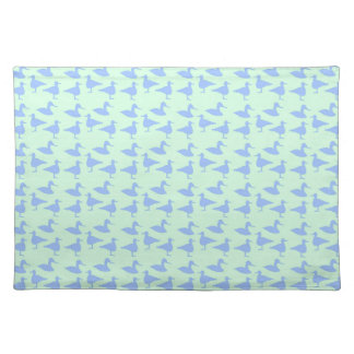 Blue ducks placemat
