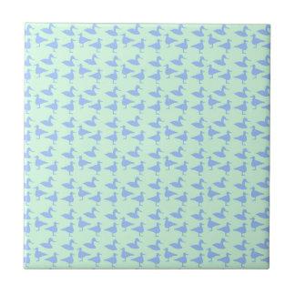 Blue ducks tile