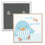 Blue Ducky Proud Big Brother or Sister Pin
